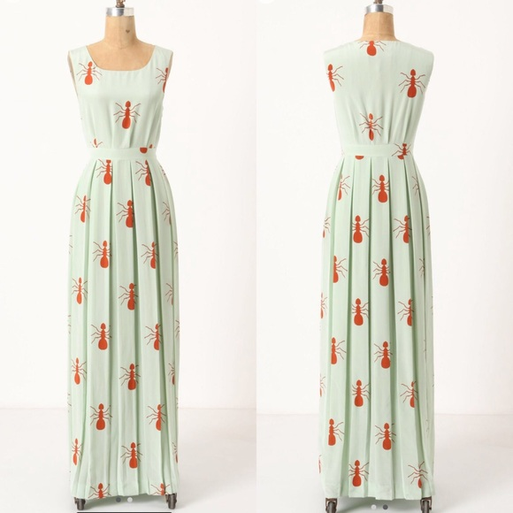 Anthropologie Dresses & Skirts - 🦄 Anthropologie Fire Ants Maxi Dress, 6